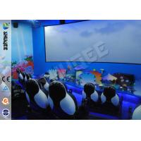 China Customized 5D Movie Theater Equipment With Bubble / Smog Special Effects wholesale