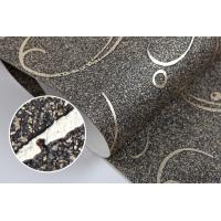 New Arrival Modern Eco-friendly Removable Plant Fiber Particle Wallpaper
