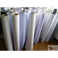 China Flex Banner Polypropylene Woven Fabric 0.51mm Thickness , Fire Retardant wholesale