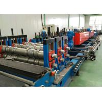 China Perforted Type Ladder Cable Tray Roll Forming Machine Chain or gear box Driven system wholesale