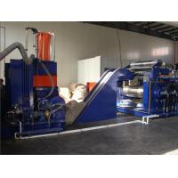 China 55KW 35L Banbury Mixer Machine , Intermix Rubber Mixer With 140° Tilting Angle wholesale