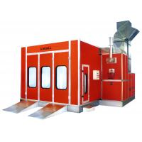 China Electric Infrared Car Spray Booth , Vehicle Spray Painting Booths With 3-fold Door wholesale