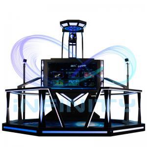 China Shooting Spcae Virtual Reality Walking Machines For Shopping Mall / VR Game Simulator wholesale