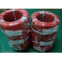 China Large Diameter Rigid PP Plastic Hard Tubes Red / Yellow For Electrical Wire wholesale