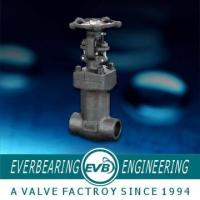 China API608 Forged Steel Welded Bonnet Globe Valve , Forged Steel Globe Valve wholesale