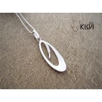 China OEM / ODM Fashion Jewelry 925 Sterling Silver Gemstone Pendant with Zircon W-VB873 wholesale
