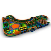 China Multicolor Giant Inflatable Theme Park Children Playground Equipments wholesale