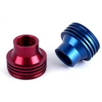 China Various Color Precision CNC Turned Components Anodized Aluminum Connected Joint Parts on sale