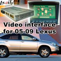 Buy cheap GPS car navigation box for Lexus ES NX IS with rearview touch screen TV video cast screen product