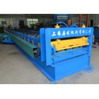 China Metal Profile 915 Floor Deck Roll Forming Machine 22kw Power 0.6mm - 1.5mm Thickness wholesale