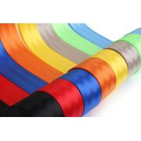 China 10 Meters Roll Car Safety Seat Belts 4.5 - 5cm Width For Protect The Passengers wholesale