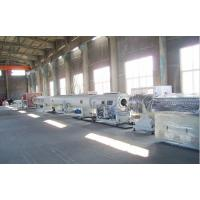 China Large Diameter Gas / Water Supply PE Pipe Production Line 24 Months Warranty wholesale