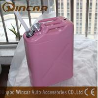 Buy cheap 5L 10L 20L Fuel Petrol Metal Jerry Can With Flexible Spout product
