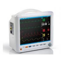 China 12 Inch Color TFT LCD Display Auto Double Alarm Multi - Parameter Patient Monitor With 6 Standard parameters wholesale