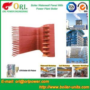 China Condensing Gas Boiler Water Wall Panels , Boiler Membrane Wall Tube wholesale