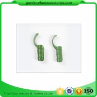 China Flexible Plastic Green Garden Cane Connectors For Fasten Films wholesale