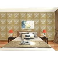 China Embossed Wall Surface 3D Textured Wall Panels Removable Wall Sticker for Living Room wholesale