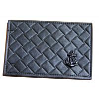 China D Brass Rivet Embossed Leather Patches Metal Logo leather embossed labels on sale