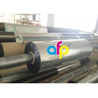 China 22 Mic Metalized Polyester Film For Paper / Paperboard 3 Inch Core wholesale