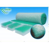 China 30 - 120 mm Thickness Fiberglass Air Filters For Spray Booth 130 Pa - 200 Pa Final Resistance wholesale