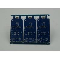China Blue Solder Masking Controlled Impedance PCB with BGA Gold Plating wholesale