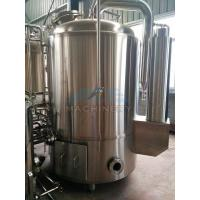 China 1000L Red Copper Shell Inner Stainless Steel Three Vessels Brewhouse wholesale