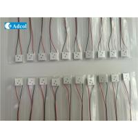 China Mini TEC  Peltier Thermoelectric Modules With 3 Hole For Precise Temperature Control wholesale