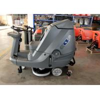 China Driving Type Battery Powered Floor Scrubber High Efficiency 5200 M2 Per Hour wholesale