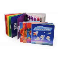 China Degradable Childrens Book Printing Size 175 * 175 * 7mm 350g White Card Material wholesale