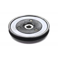 Buy cheap Black Flanged Pulley Guide With Ceramic Coating / Bearing Wire Guide from wholesalers