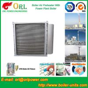 China Anti Wind Pressure Tubular Type Air Preheater In Boiler Galvanized Steel wholesale