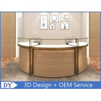 China Luxury 3D Design Jewellery Showcases / Glass Jewellery Display Cabinets wholesale