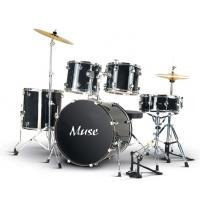 Quality Professional Acoustic Muse 5 Piece Adult Drum Set Professional A525Q-702 for sale
