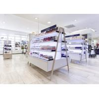 China Durable Cosmetic Display Case Decorated 1500 X 600 X 1350 MM With LED Lights wholesale