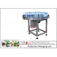 China Chemicals Bottle Packing Machine Line Rolling Type Manual Catonning Packing Conveyor wholesale