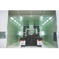 Quality Vehicle Down Draft Industrial Spray Booth , 220V Electric Spray Paint Booth for sale