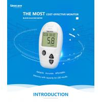 China Domestic Diabetes Blood Monitoring Devices No Coding With Accuracy Result wholesale