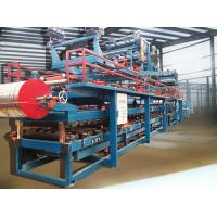 China Colored Steel Foamed Sandwich Panel Roll Forming Machine Hydraulic Cutting wholesale