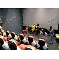 China Multiplayer Interactive 7D Virtual Reality Cinema With Dynamic Special Effects wholesale