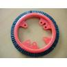 China Customized Plastic Monforts Stenter Brushes 3 Rows Inner Diameter 7cm wholesale