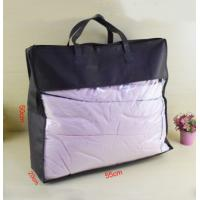 China Sewing PVC Packing Bag , PVC Quilt Bag / Pillow Bag For Bedding wholesale
