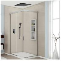 China 8-12 Inch Concealed Shower Faucet , Solid Brass Ceiling Shower Faucet Three Modes wholesale
