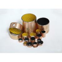 China POM Bearing Lined With Bronze , Powder Sintered Metal Bearings And Steel Backed wholesale