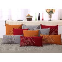 China 100% Linen Decorative Cushion Covers Free Style Pattern Embroidered Throw Pillows wholesale