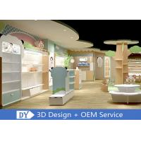 China Lovely Kids Clothing Store display Furniture With Led Lighting Easy Install Dis - Assembly wholesale