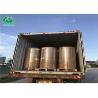 China Offset Printing Jumbo Wrapping Paper Rolls Single Side Coating With Pallet Packing wholesale