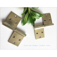 China 2 Pieces 3 Holes Stainless Lift Off Hinges Emovable Wide Application  Strong Inner Box wholesale