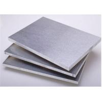 China 6063 T6 Aluminum Alloy Plate Thickness 6mm 1250mm*2500mm Stock Size on sale