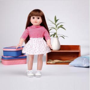 China cute sleeply vinyl 18 inch electronic dolls wholesale