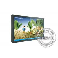China 55 inch Real Color Lcd Screen Wall Mounted Boards for AD Player wholesale